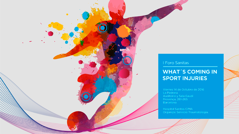 WHAT´S COMING IN SPORT INJURIES 2016
